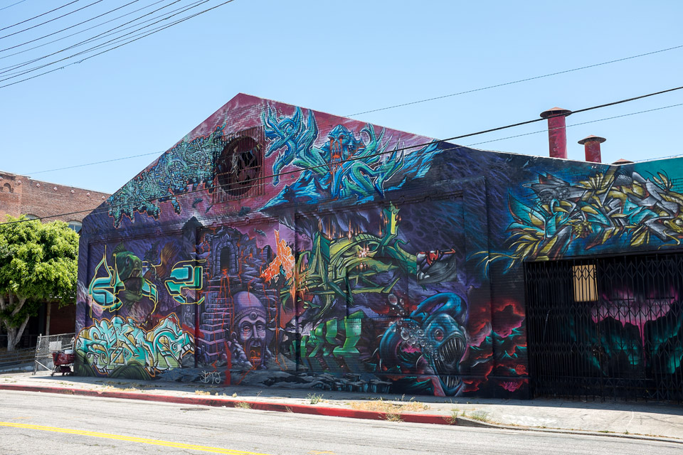Los Angeles Art District Digital Series David Bernie Fuji x100s