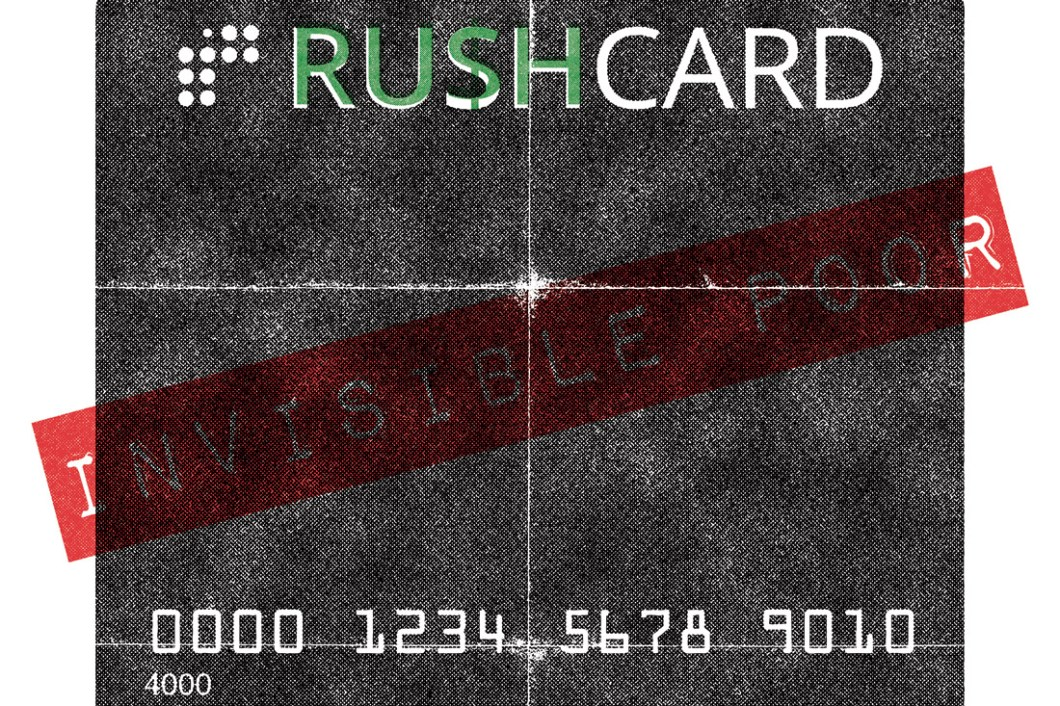 David Bernie Invisible Poor Rush Cards Credit World News 22