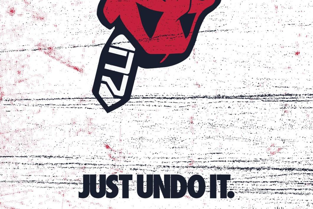 David Bernie Just Undo It Nike N7 Chief Wahoo Indian Country 52 Week 41