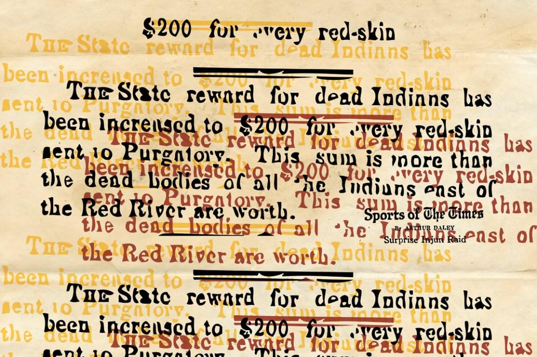 David Bernie Redskin Definition Indian Country 52 Week 26