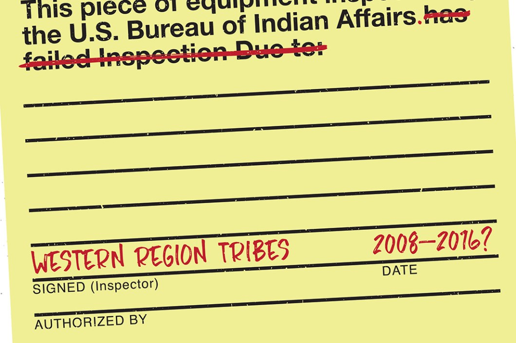 David Bernie Indian BIA Failed to Inspect Indian Country 52 Week 17