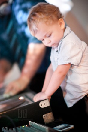 A Young DJ by David Bickley Photography