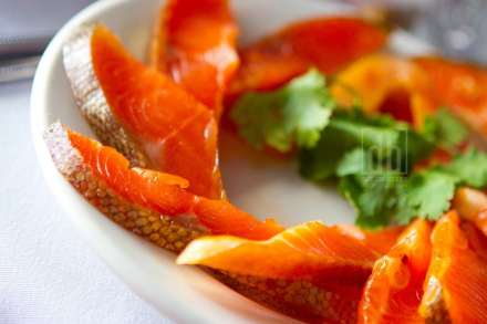 Salmon Plate by David Bickley Photography