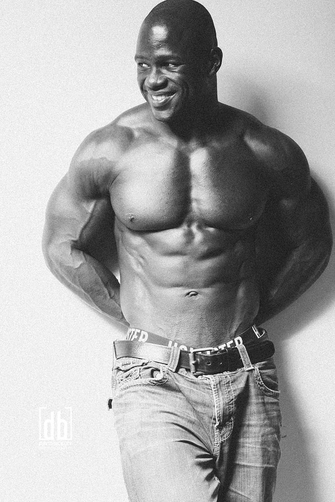 WBFF Pro Charles Hamilton by David Bickley Photography