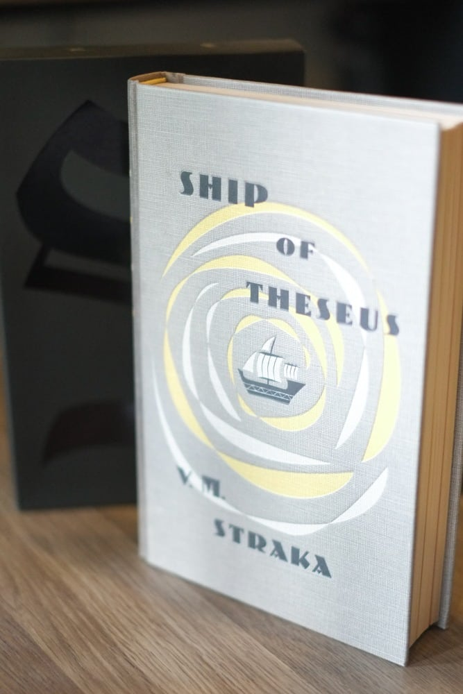 S. - By J.J. Abrams and Doug Dorst, photographed by David Bickley