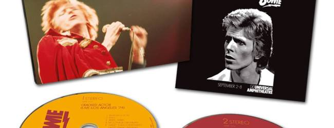 David Bowie Cracked Actor – Live Double CD is out now!