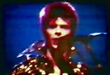 Rare live footage of David Bowie in  Cleveland,  22nd September, 1972, shot by Mark Turkeltaub