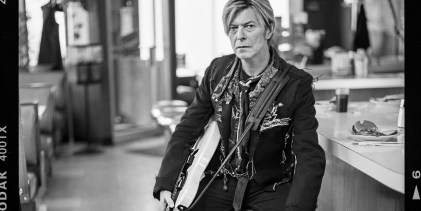 Photographing David Bowie in 2004, by Mark Seliger
