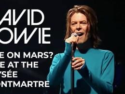 David Bowie – Life On Mars? (Live at the Elysée Montmartre, 1999) [Official Video]