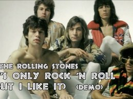 The Rolling Stones – It's Only Rock 'n Roll (But I Like It) Demo (feat. David Bowie)