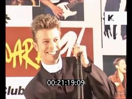 David Bowie Press Conference, Brit Awards 1996