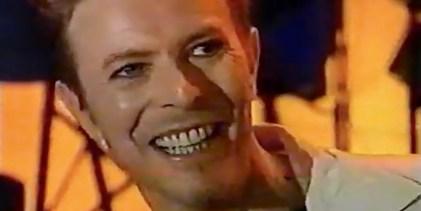David Bowie – Press Call, Wembley (Nov. '95)