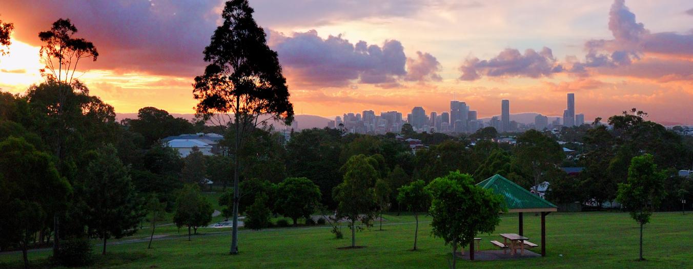 city sunset 2c
