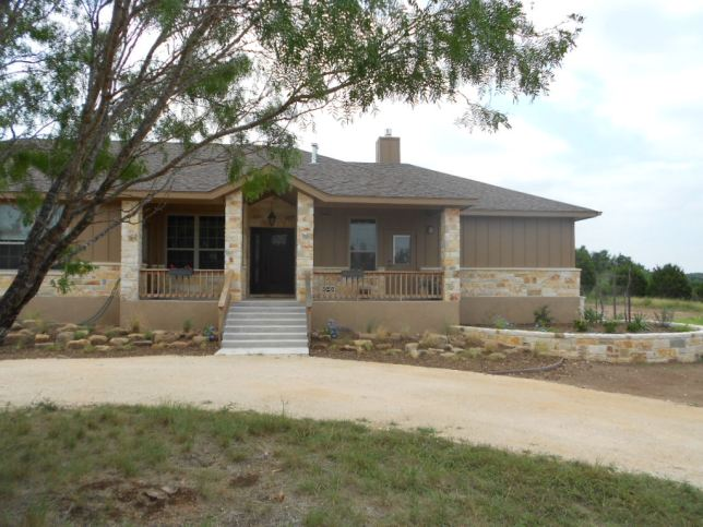 Our house in Canyon Lake, Texas