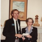 1985 Rotary trip to USA meeting Senator Nancy Kassebaum in the US Congress