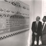 Opening of the new offices for the BLPC with Chief Justice Enock Dumbutshena 1990