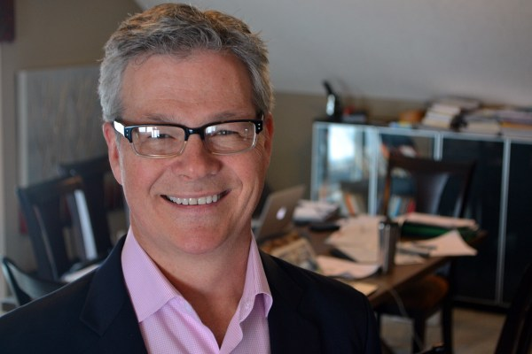 David Cory, founder of EITC, at the Calgary office