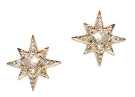 Aztec-Starburst-Mini-Studs_Clear-Topaz-Gold_Crop