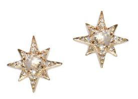 Aztec-Starburst-Mini-Studs_Clear-Topaz-Gold_Crop