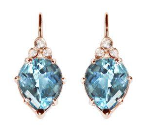 Classique-pear-drop-earrings-blue-topaz-rose-gold-crop2