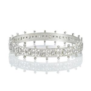 Freida Rothman Forever Crown Bangle