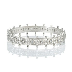 Freida Rothman Forever Crown Bangle