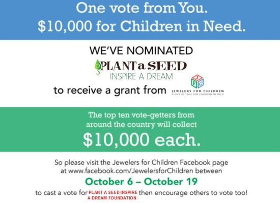 Plant a Seed Foundation - JFC Grant