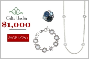 Holiday Jewelry Gifts Under $1000