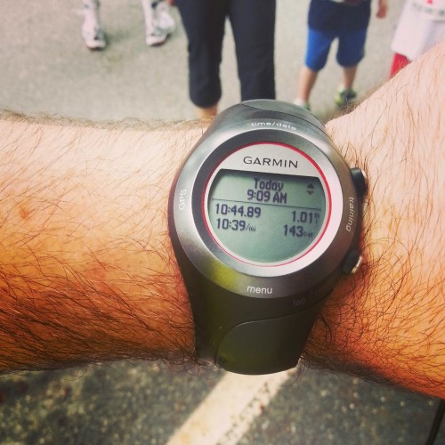 Garmin Forerunner 410. My first GPS Watch.