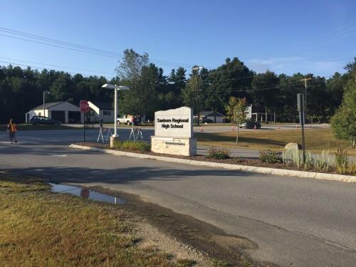 Vehicle Transition Area - Sanborn Regional High School