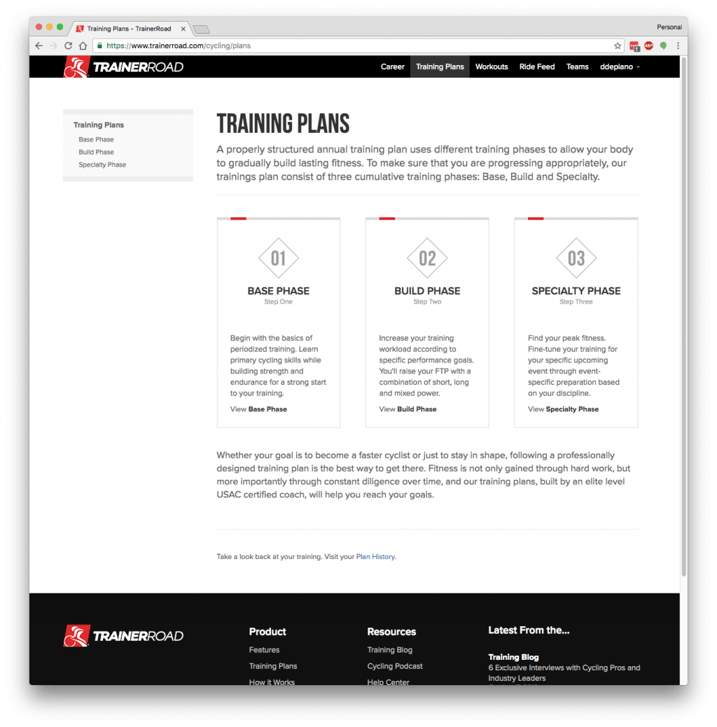 TrainerRoad Triathlon Training Plans | David DePiano