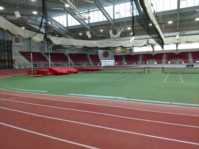 Beautiful Indoor Track