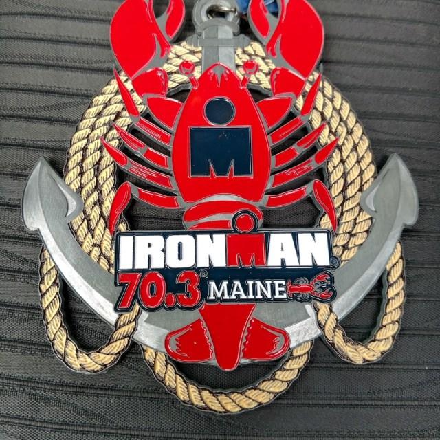 Ironman Mane 2017 Medal