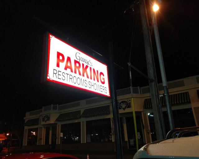 Scored a great parking spot
