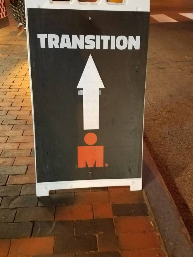 Transition is that way
