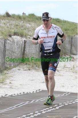Running over sand