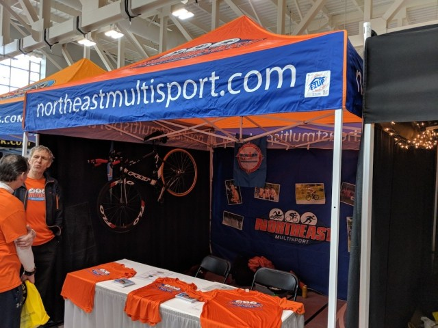 The Northeast Multisport Booth