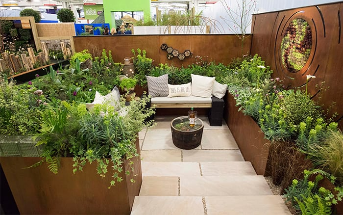 Best small garden design ideas from the Young Gardeners ... on Small Garden Sitting Area Ideas  id=90330