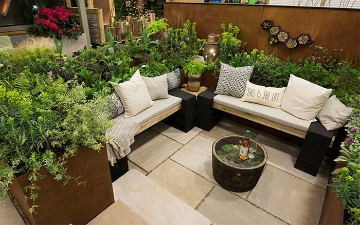 Best small garden design ideas from the Young Gardeners ... on Small Garden Sitting Area Ideas  id=30532