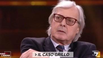 Caso Grillo, Sgarbi: «Lilli Gruber mi ha impedito di parlarne». Agitazione in diretta su La7 – Video