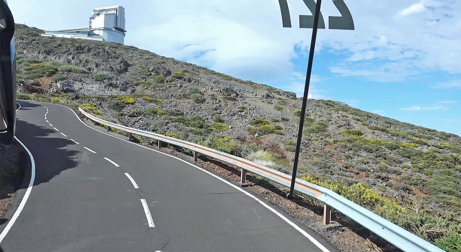 Road to the Observatory La Palma Canary Islands