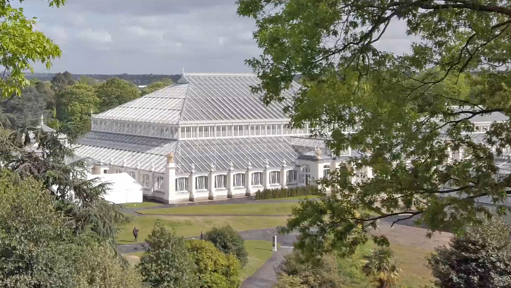 Temperate House at the Royal Botanic Gardens, Kew, London