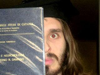 io alla prima laurea