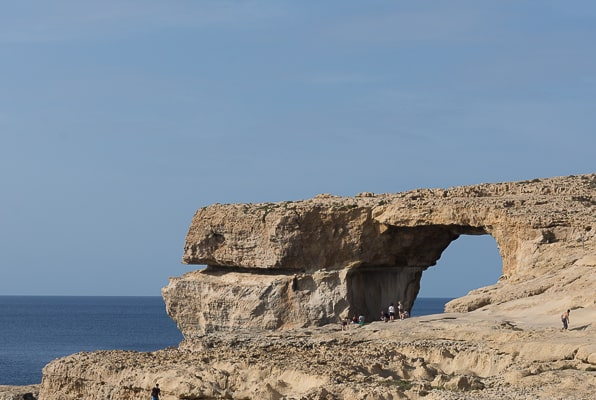 Landward View of the Azure Window