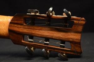 Classical Guitar by David Finck -- Peghead