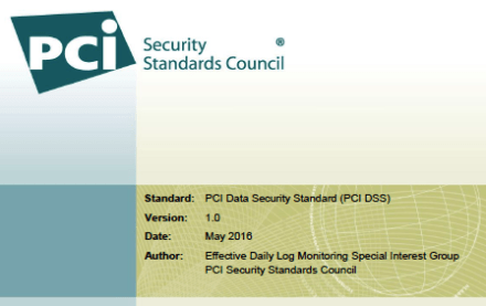 PCI SSC: Effective Daily Log Monitoring