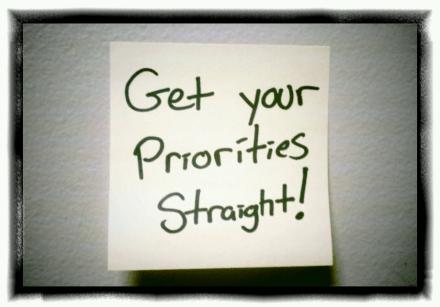 GDPR: Get Your Priorities Straight