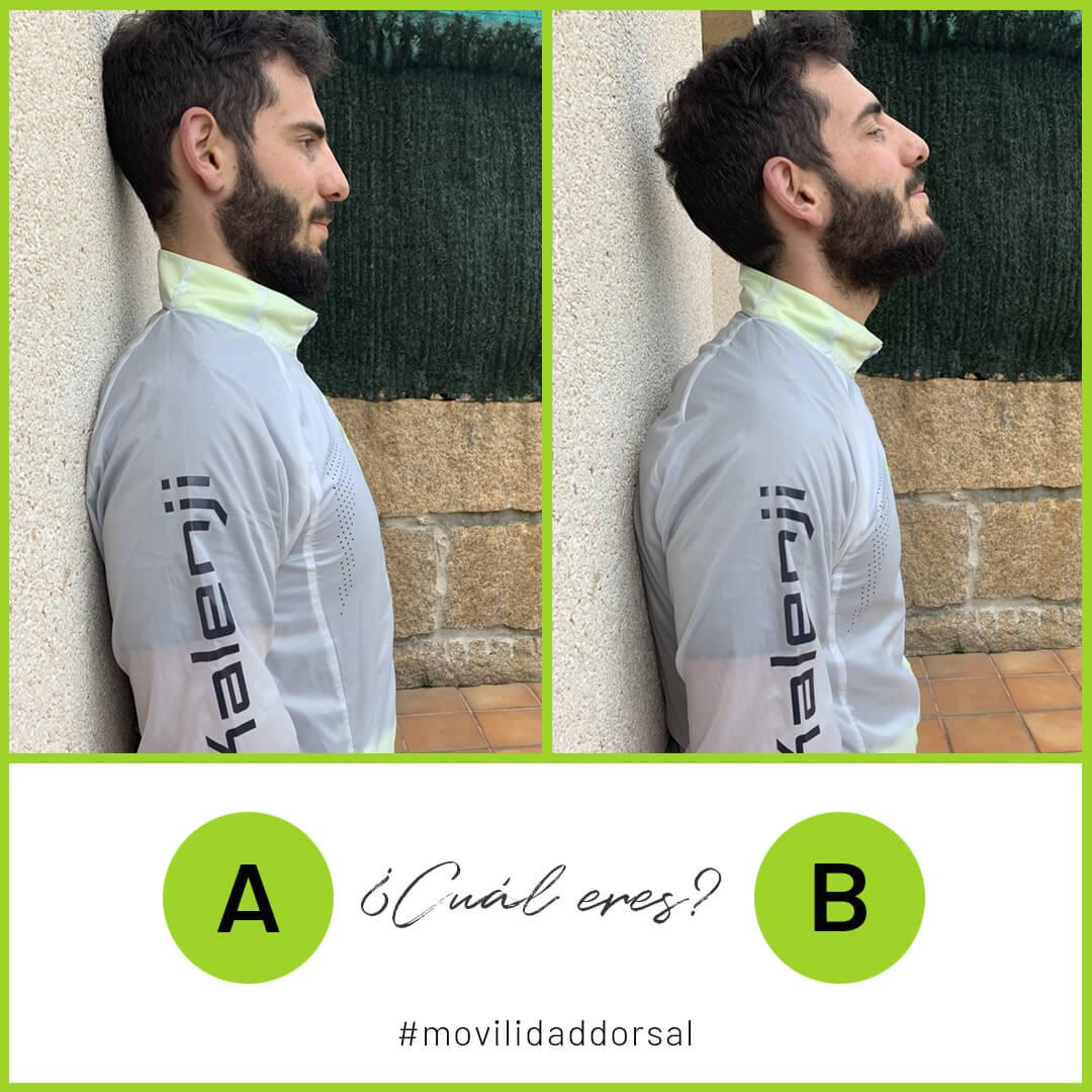Test flexibilidad dorsal cervical