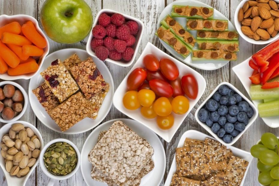 Ideas de snack saludables