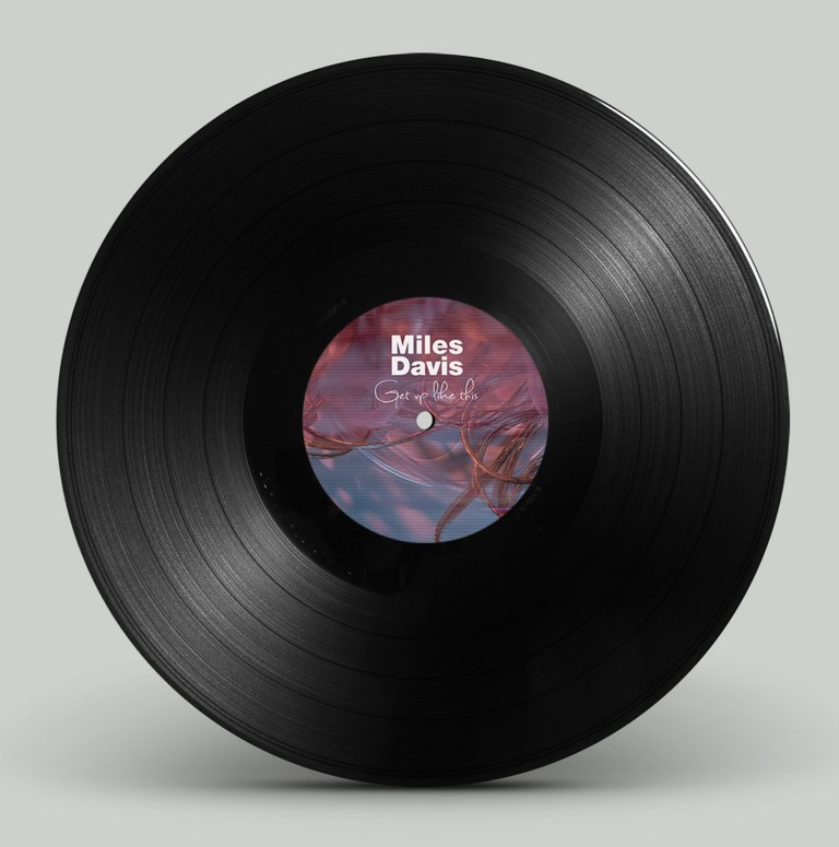 DISEÑO DE PRODUCTO: Get Up With It - Vinyl Design